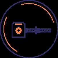 rinvii e martinetti-motion control device