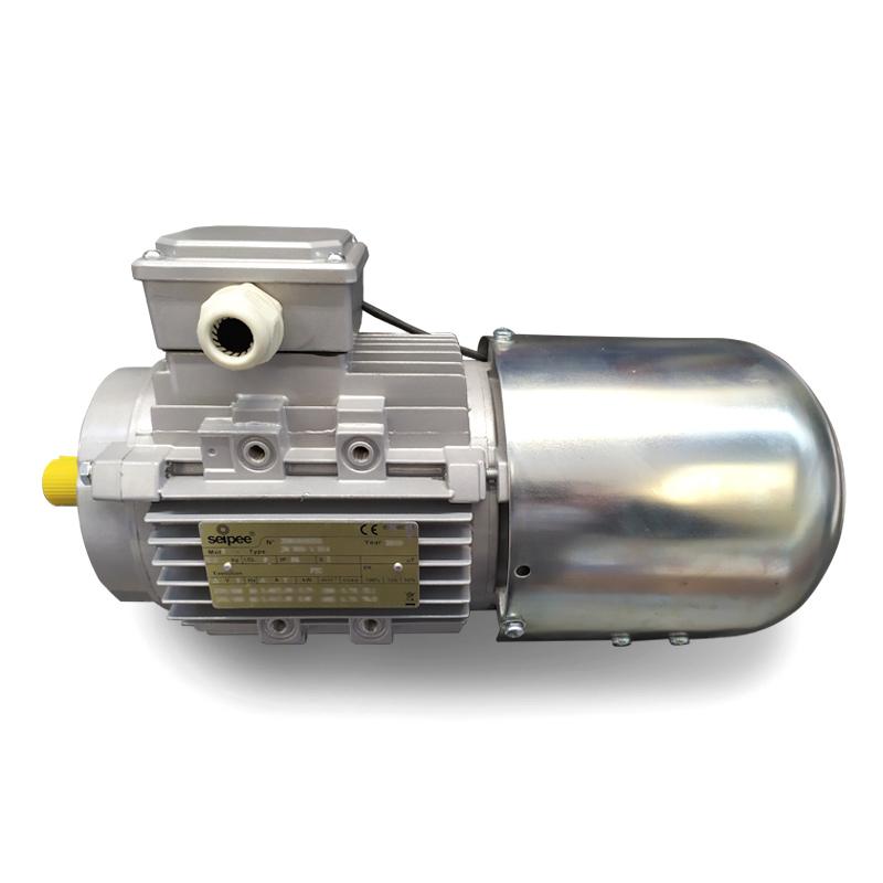 motore asincrono trifase con servoventilazione